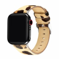 Parker Leopard Pony Hair Band for Apple Watch Series 1,2,3,4,5,6 & SE - Size 38mm/40mm - 38mm/40mm