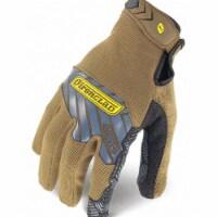 Ironclad Mechanics Gloves, Touchscreen,L,Brown,PR  IEX-PGG-04-L