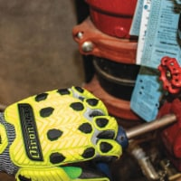 Ironclad Knit Gloves,Full Finger Coverage,L Sz  KCI2PU-04-L