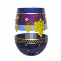 95 & Sunny SLDONTWHINEDRIN 18 oz Dont Whine Drink Wine Bottoms Up Stemless Wine Glass