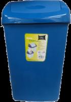 VMI Houseware Keep Clean Swing Top Trash Can - Blue