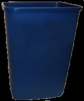VMI Housewares Trash Can - Dark Blue
