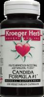 Kroeger Herb Candida Formula #1 Capsules - 100 ct
