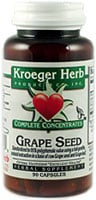 Kroeger Herb Grape Seed Capsules