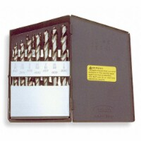 Cle-line Reduced Shank Drill Bit Set   For Carbon Steel And Cast Iron C21156