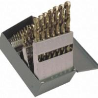 Jobber Drill Bit Set,  Number of Drill Bits 29,  Drill Bit Point Angle 135°