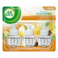 Air Wick Plug-in Air Freshener Scented Oil Refills Vanilla Passion, 3 Refills