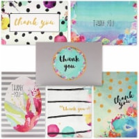 Blank Thank You Cards and Envelopes, Cute Watercolor Greeting Cards (4 x 6 In, 48 Pack) - PACK