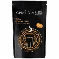 Chai Diaries Instant Ginger Chai Tea, 2.2 Pounds Zip Pouch - 1