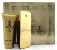 1 Million by Paco Rabanne 3.4oz EDT Spray + 3.4oz Sh/Gel. New Men's Set. Tin Box - 3.4S