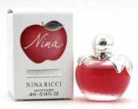 Nina by Ricci Nina EDT MINI Splash 4 ML. Brand New - 0.14 OZ