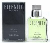 Eternity by Calvin Klein 3.4 oz. After Shave Splash for Men. New Sealed Box - 3.4 OZ