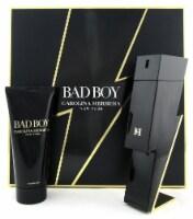 Bad Boy by Carolina Herrera 3.4 oz. EDT Spray + 3.4 oz. Sh/Gel. New Men's SET - 3.4OZ + 3.4OZ