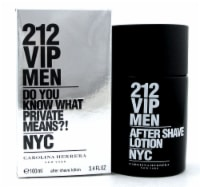 212 VIP Men by Carolina Herrera 3.4 oz. After Shave Lotion Splash. New Sealed Box - 3.4OZ