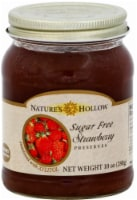 Nature's Hollow Sugar Free Strawberry Preserves - 10 oz