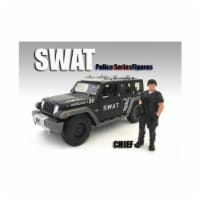 American Diorama 77468 1 by 24 Scale SWAT Team Chief Figure for Models