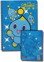 """Great Eastern Entertainment Sonic The Hedgehog Chao Spiral Notebook Multi-colored, 10"""" - 1"""