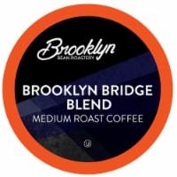 Brooklyn Beans Medium Roast Coffee Pods, Brooklyn Bridge Blend, Four-24 count boxes