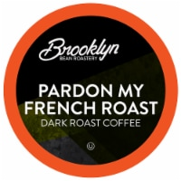 Brooklyn Beans Dark Roast Coffee Pods, Pardon My French Roast, Four-24 Count Boxes