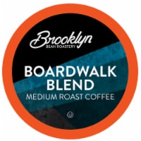 Brooklyn Beans Medium Roast Coffee Pods for Keurig 2.0, Boardwalk Blend, Four-24 Count Boxes