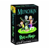 USAopoly Munchkin Rick And Morty The Card Game - 1 Unit