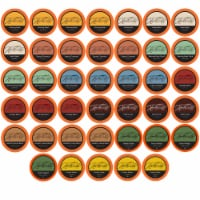 Hamilton Mills Variety Pack Coffee Pods, 2.0 Keurig K-Cup Brewer Compatible, 40 Count