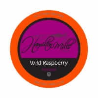 Hamilton Mills Wild Rapsberry Coffee Pods, 2.0 Keurig K-Cup Brewer Compatible, 40 Count