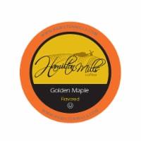 Hamilton Mills Golden Maple Coffee Pods, 2.0 Keurig K-Cup Brewer Compatible, 40 Count