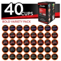 Brooklyn Beans Bold Variety Pack Coffee Pods for Keurig K-Cups Brewer, 40 count