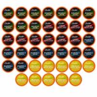Brooklyn Beans Coffee Pods Breakfast Variety Sampler Pack Keurig K-Cups Maker, 40 count