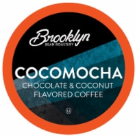 Brooklyn Beans Cocomocha Coffee Pods, Compatible with 2.0 K-Cup Brewers, 40 Count