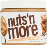 Nuts N More  High Protein Peanut Spread   Toffee Crunch
