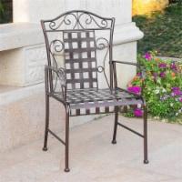 Mandalay Iron Patio Dining Chair (Set of 2) - 1