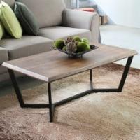 International Caravan Hamburg Wood Coffee Table in Canyon Oak - 1