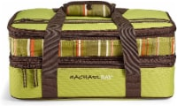 Rachael Ray Expandable Lasagna Lugger - Stripe Green