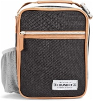 Fit and Fresh Thayer Lunch Bag - Black - 1 ct