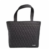 Fit and Fresh Metro Reusable Tote - Black