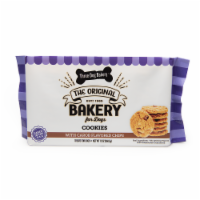 Three Dog Bakery Cookies with Carob Flavored Chips Dog Treats - 13 oz