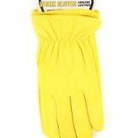 M&F Western H2110008-M HD Xtreme Mens Goatskin Gloves, Yellow - Medium - 1