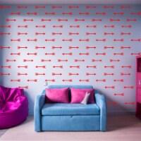 VWAQ Arrows Wall Stickers Peel and Stick Bedroom Patterns Shapes Decals Decor - 100 Pcs - 1