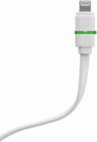 ZGear Smart LED Charge and Sync Lightning Cable - White