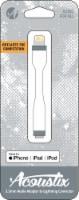 Acoustix 3.5mm to Lightning Audio Adapter - White