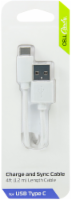 CellCandy CELLCandy and Sync USB-C Cable - White