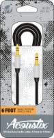 Acoustix Tangle Resistant Braided Auxillary Cable - Black