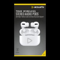 Acoustix True Wireless Stereo Audio Pods - White