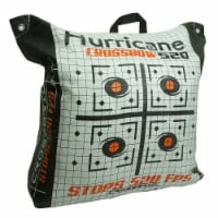 Hurricane H60410 Double Sided 460 FPS Woven Crossbow Archery Bag Target, White