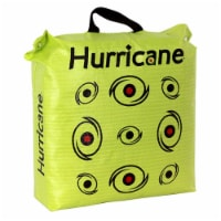 Hurricane H-20 Tri Core Technology 9 Target Deer Vitals Archery Target, Yellow