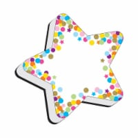 Magnetic Whiteboard Eraser, Star Confetti - 1