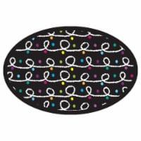 Magnetic Whiteboard Eraser, Color Chalk Loops - 1