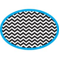Magnetic Whiteboard Eraser, Chevron - 1